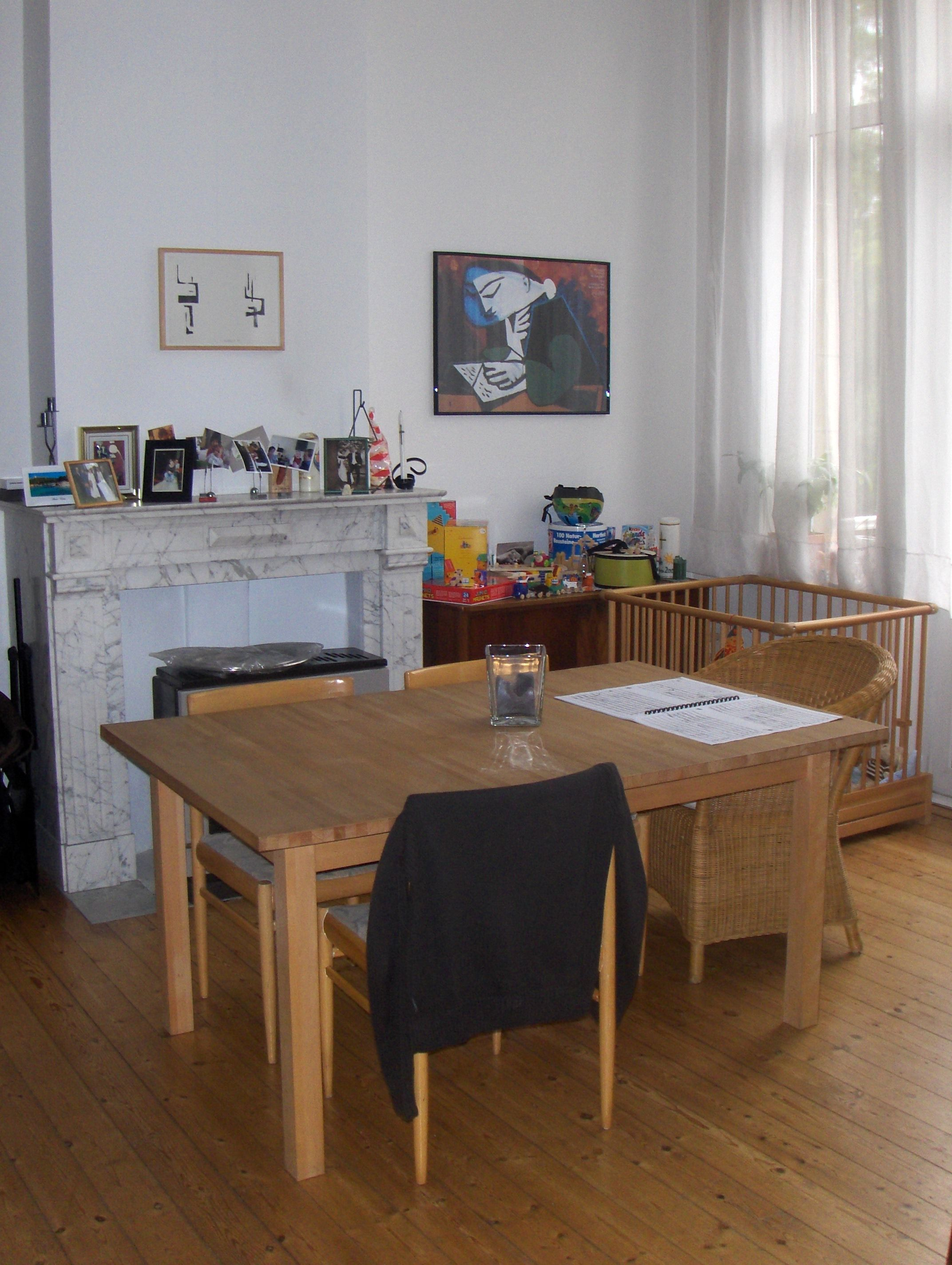 superb 1 room apartment at the first floor of a master house