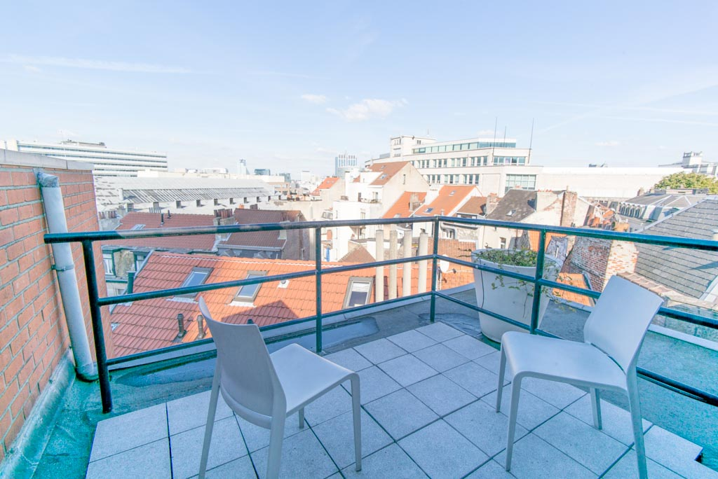 Brussels Sablon Top Floor Apartment 2 terraces | Apartment ...