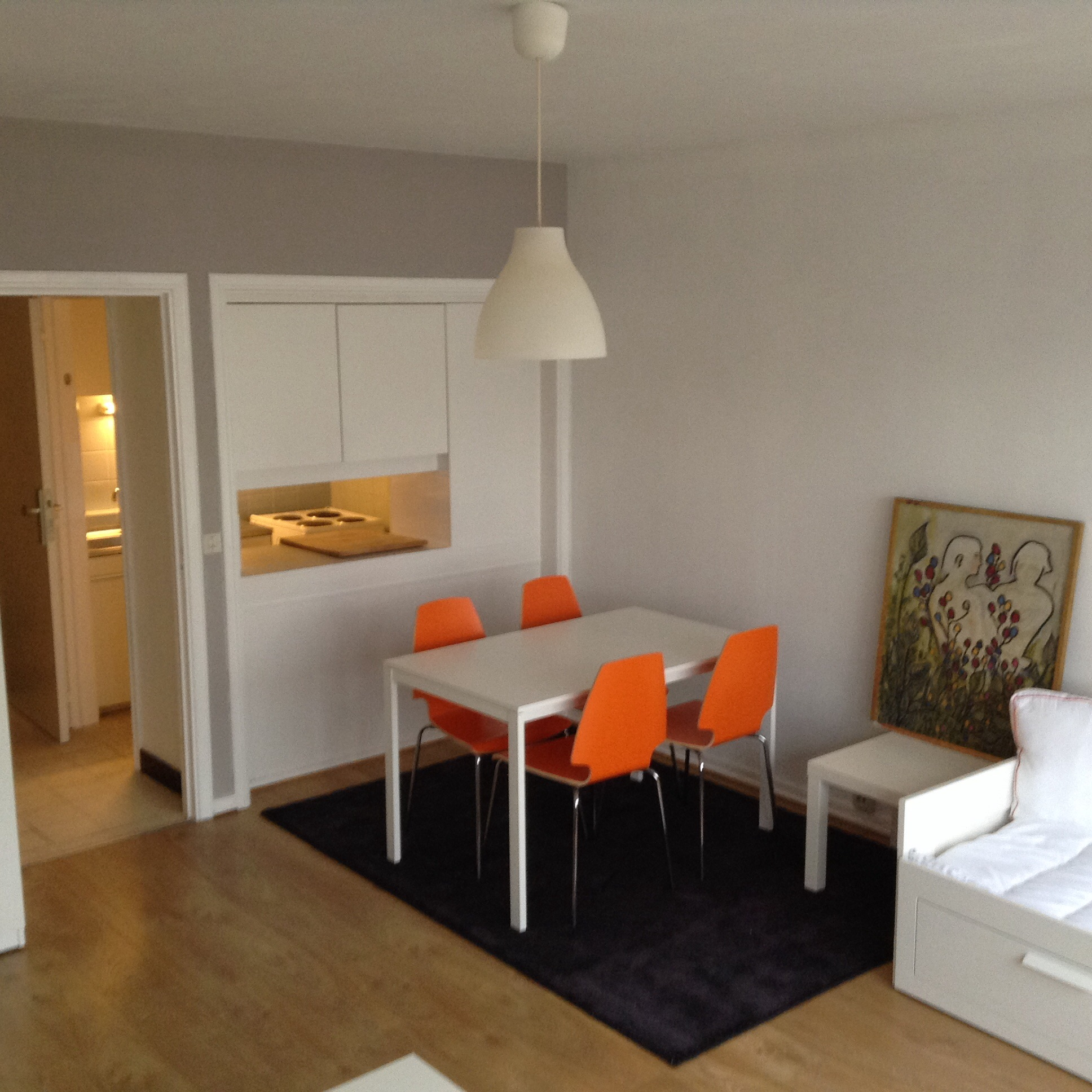 Furnished Studio Apartments: Furnished Studio St-gilles, Close Chatelain ( Min 12mths
