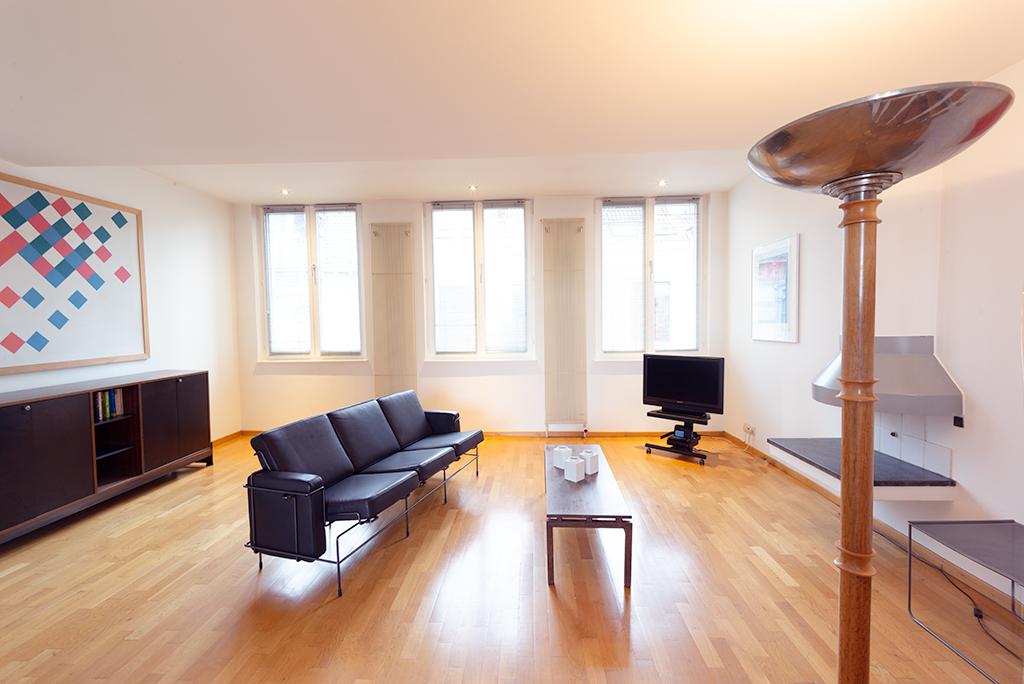 Brussels Sablon Top Floor Apartment 2 terraces | Apartment ...