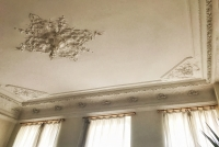 High carved ceilings