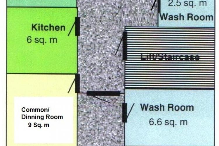 Site 1: Floor plan